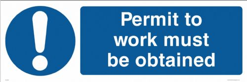 Permit to work must be obtained